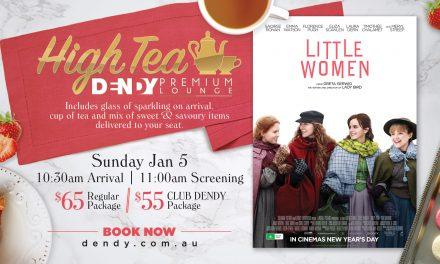 Little Women – High Tea