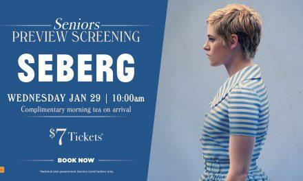 Seberg – Seniors Morning Tea Preview