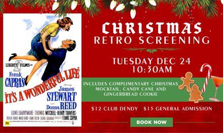 Christmas Retro Screening