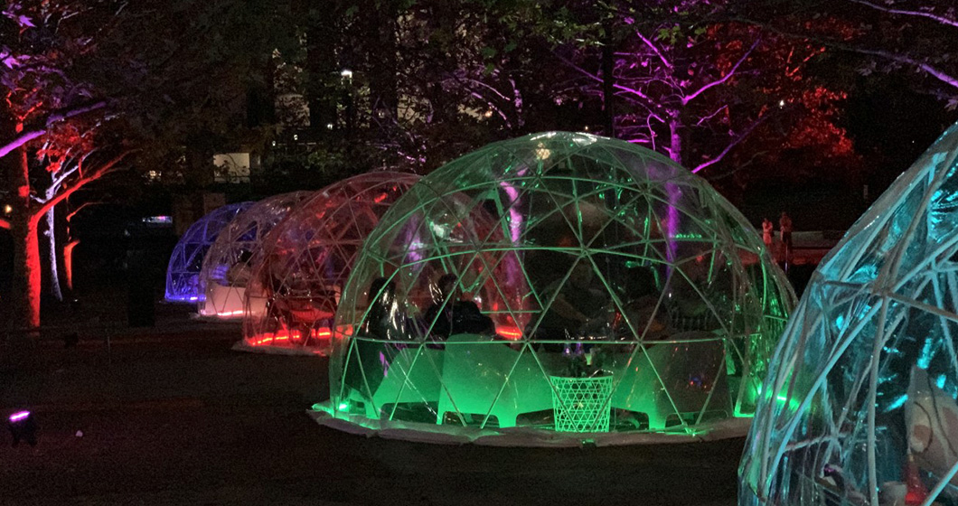 Canberra is getting an igloo garden!