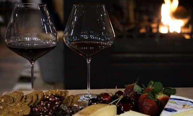 Fireside with Canberra wine