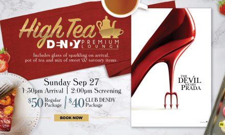 The Devil Wears Prada – High Tea Screening