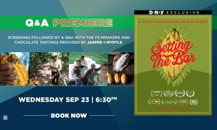 Setting The Bar – Q&A Screening
