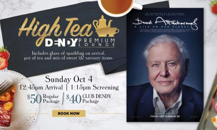 David Attenborough: A Life On Our Planet – High Tea