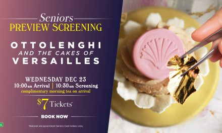 Ottolenghi and the Cakes of Versailles Morning Tea Screening at Dendy 2020