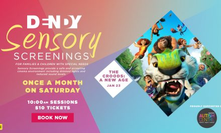 Sensory Friendly Screening – The Croods: A New Age