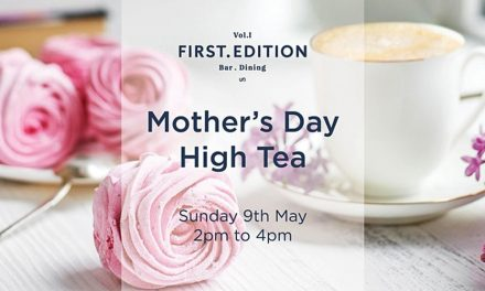 First Edition Mother's Day High Tea