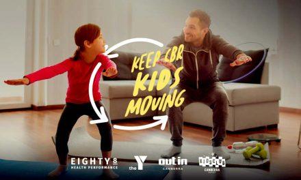 Keep CBR KidsMoving – Virtual workout